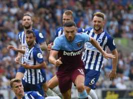 pertandingan west ham vs brighton