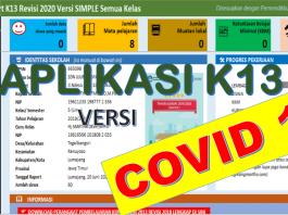 Aplikasi Raport K13 SD - Disini saya akan bagikan aplikasi raport K13 Sekolah Dasar revisi 2020 terbaru edisi Covid-19. Dalam menyingkapi pembelajaran di era pandemi Virus Corona