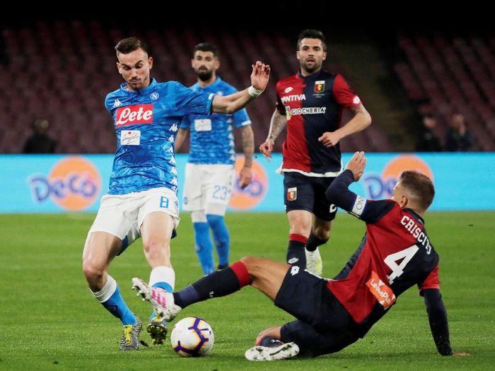 Prediksi Pertandingan Liga Italia Serie A Genoa vs Napoli