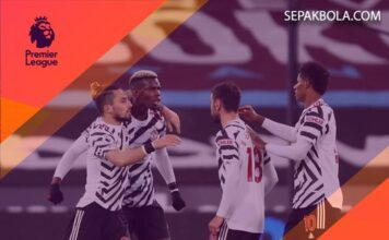 Skor Akhir (Full Time) West Ham United 1-3 Manchester United